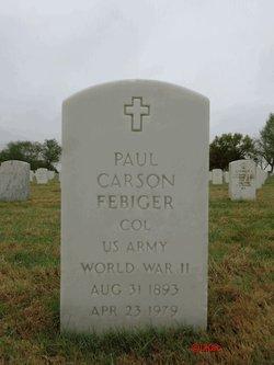 Col Paul Carson Febiger
