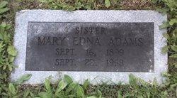 Mary Edna Adams