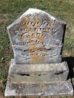 Margaret Elizabeth <I>Hines</I> Grider