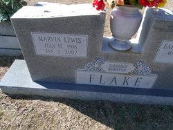 Marvin Lewis Flake