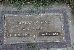 Bertha V King