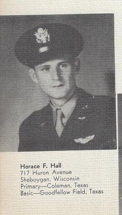 2LT Horace F Hall