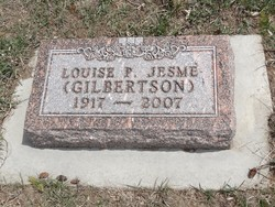 Louise Pearl <I>Gilbertson</I> Jesme