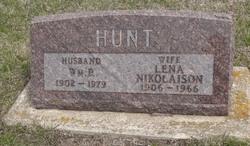 Lena N. <I>Nikolaisen</I> Hunt