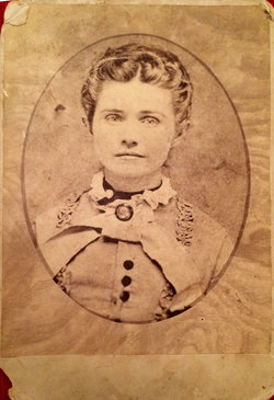 """Frances Ella Carruth """"Fanny"""" <I>Cliett</I> Palmer"""