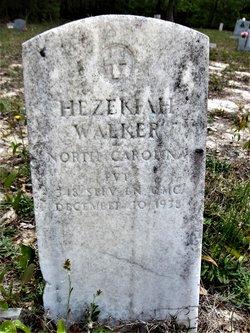 PVT Hezekiah Walker