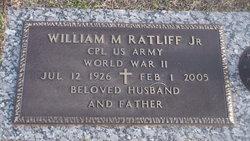 William M Ratliff Jr.