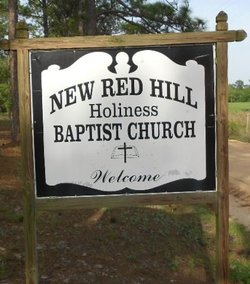 New Red Hill Holliness Baptist Church Cemetery