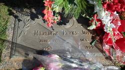 Meredith <I>Parks</I> Joyner