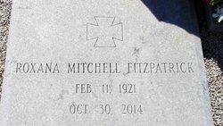 Roxana <I>Mitchell</I> Fitzpatrick