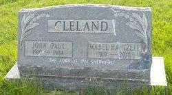 Mabel Louise <I>Hartzell</I> Cleland