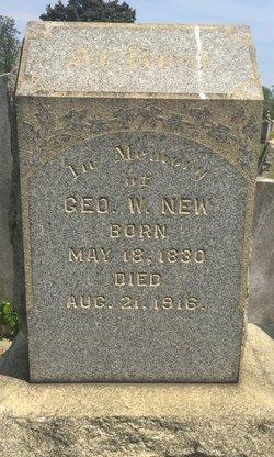 Sgt George W. New