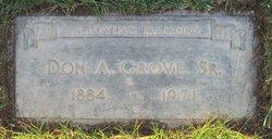 Donald Alfonzo Grove, Sr