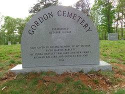Gordon Chapel Cemetery