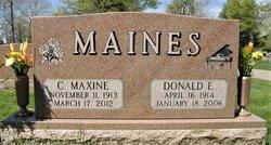 "Donald E ""Don"" Maines"