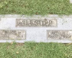 Annie Eliza <I>Reynolds</I> Allsopp