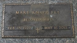 Mary Estella <I>Knapp</I> Fry