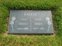 Emma Faye <I>Kuelper</I> Radeke
