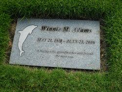 Winnie M. Adams