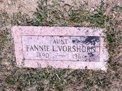 Fannie L. Vorshorn