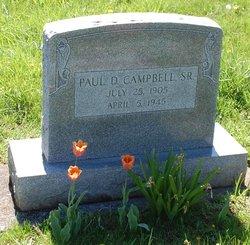 Paul Dewey Campbell, Sr