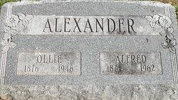 "Olive May ""Ollie"" <I>Ferris</I> Alexander"