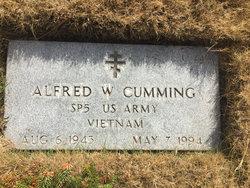 Alfred W Cumming