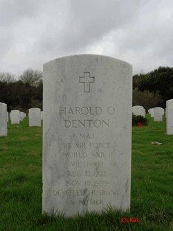 Harold O Denton