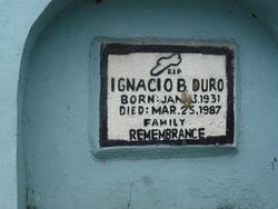 Ignacio B. Duro