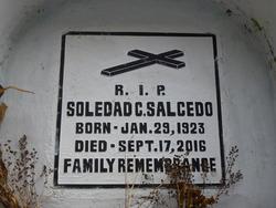 Soledad C Salcedo