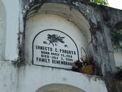 Ernesto C Pabuaya