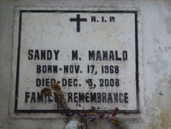 Sandy M Manald