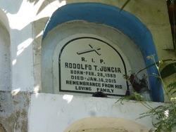Rodolfo T Juncia