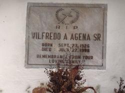Wilfredo A Agena, Sr.