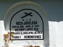 Nicanor G Javelosa
