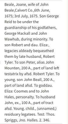Elizabeth <I>Coombes</I> Beall