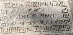 John Demetrious Athon
