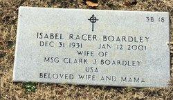 Isabel <I>Racer</I> Boardley