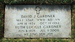 David J Gardner