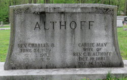 Carrie May <I>Kraushaar</I> Althoff