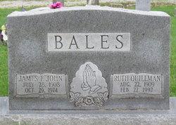 """PFC James Freeman """"John"""" Bales"""