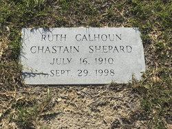 Ruth <I>Calhoun</I> Shepard