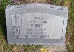 Norma Jean <I>Legg</I> Moore
