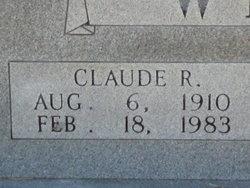 Claude R. Wright