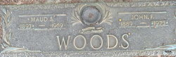 Maud <I>Stricklin</I> Woods