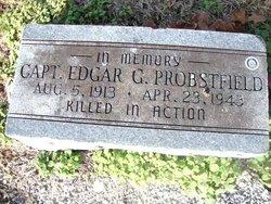 Capt Edgar G Probstfeld