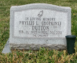 Phyllis Lauretta <I>Hopkins</I> Dutton