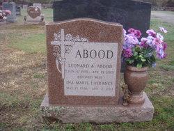 Ina M. <I>LaFrance</I> Abood