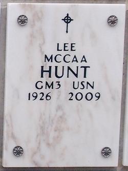 Lee McCaa Hunt