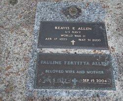 """Pauline """"Nana"""" <I>Fertitta</I> Allen"""
